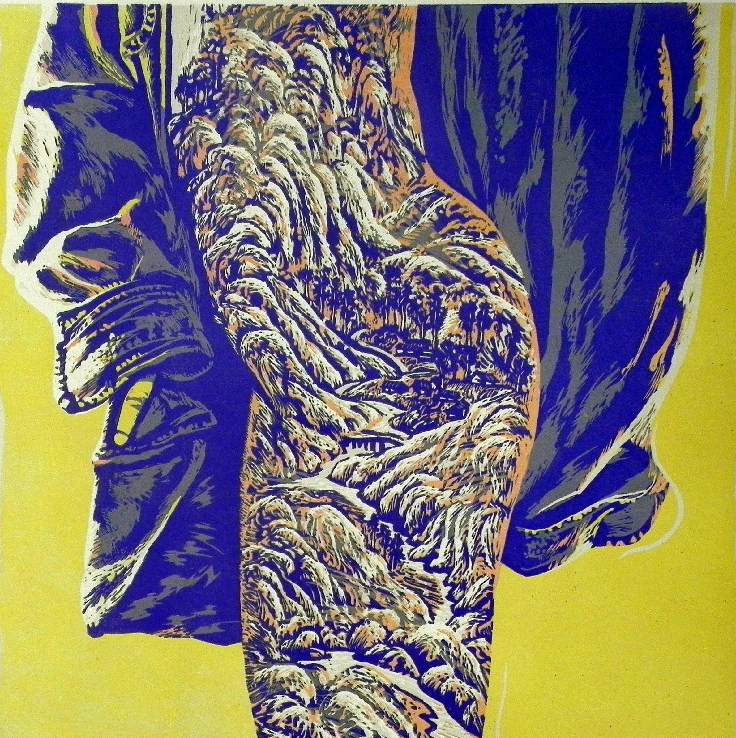 Wang Yu Hui--13  60 x60cm Lithograph $ 1,500