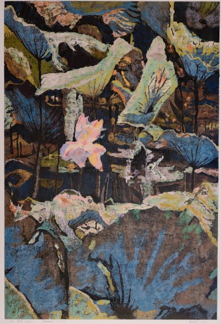 Xu Bojun - 蝶恋系列14 (印56张) 101x68cm  Lithograph $4,900