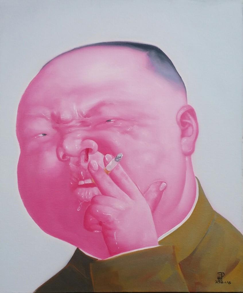 中国宝贝 - 07 Chinese Treasure - 07,  2016,  100 x 120 cm, Acrylic on canvas